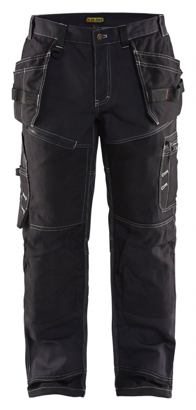 Blaklader Workwear | 1500 Xtreme Cotton Twill Trousers with Nail Pockets | Work Bottoms